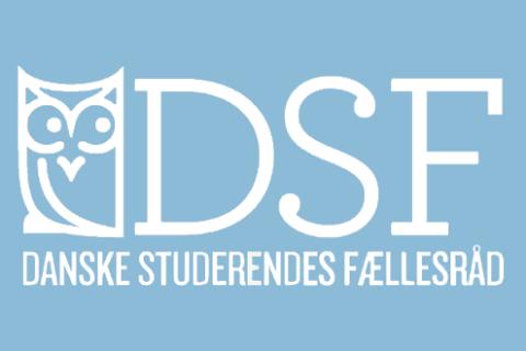 DSF,logo,lille,hvid