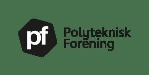 PFs nye logo sort